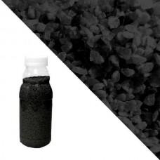 Чёрная кварцевая крошка RAL 9005 (Jet Black)