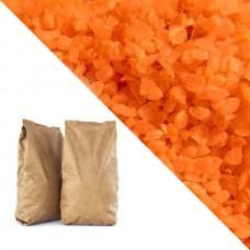 Оранжевая кварцевая крошка RAL2004 (pure orange) 25кг
